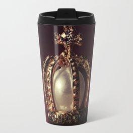 Golden Crown Travel Mug