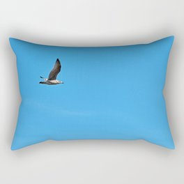 Alone in the sky Rectangular Pillow