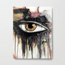 War Paint 1 Metal Print