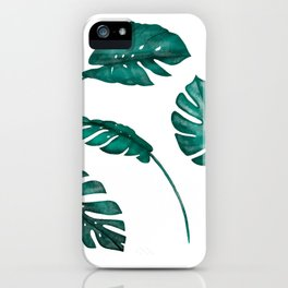 Tropical days -Series III.- iPhone Case