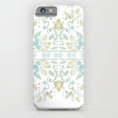 Boho floral Slim Case iPhone 6s