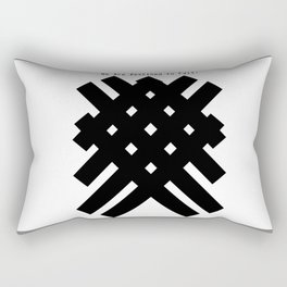 We Are Destined To Fail Rectangular Pillow