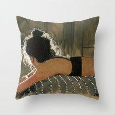 Sara, Lights Throw Pillow