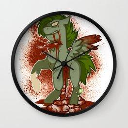 My little Zombie Wall Clock