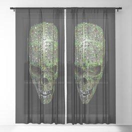 Bad data Sheer Curtain