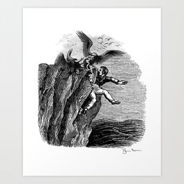 The Vulture Advocate Art Print