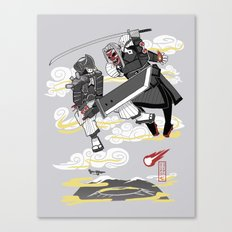 Final Samurai VII Canvas Print