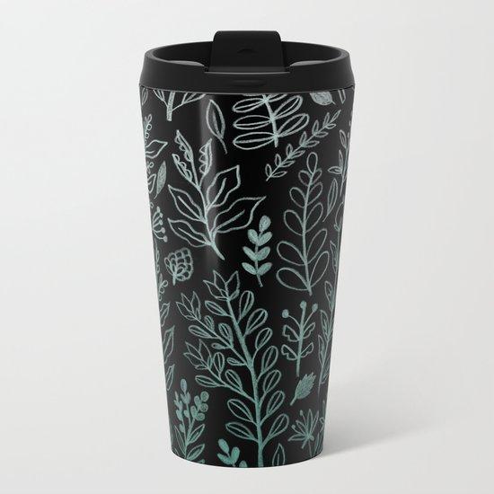 Ghost Botanic Metal Travel Mug