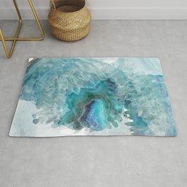 Blue Aqua Agate Rug