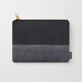 Untitled (Black on Grey) by Mark Rothko HD Carry-All Pouch