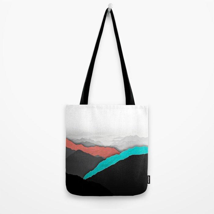 Mountain Highlights Tote Bag