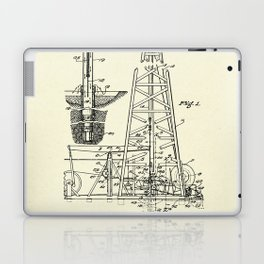 Combination Standard and Hydraulic Drilling Rig-1911 Laptop & iPad Skin