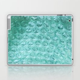 Aqua Bubble Wrap Laptop & iPad Skin