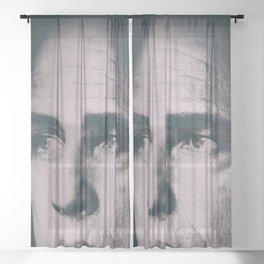 Apocalypse now, Marlon Brando, Vietnam war, alternative movie poster, cult film Sheer Curtain
