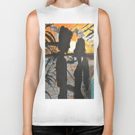 In the Sunset with You Biker Tank