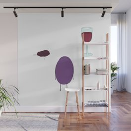 Grape Fate Wall Mural