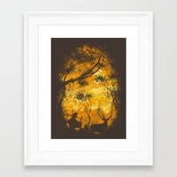 hunter Framed Art Prints featuring Hunter by Robson Borges