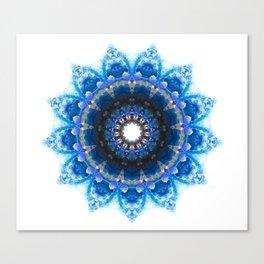 Mandala 1 BLUE Canvas Print