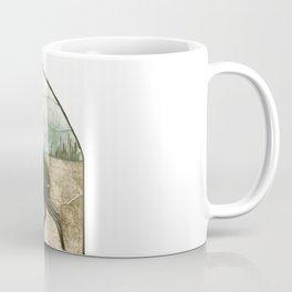 Moose Fight Coffee Mug