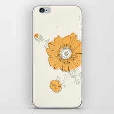 Orange Eden iPhone & iPod Skin