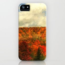 Fall in the Highlands iPhone Case