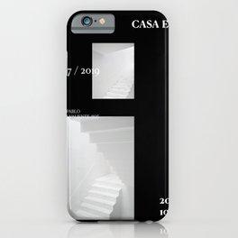 Casa Esquina Poster Black iPhone Case