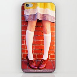 It's all about the shoes! iPhone Skin