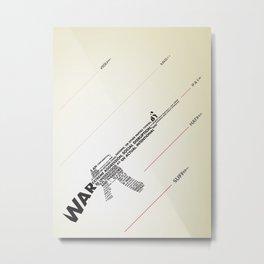 The Ammunition of War Metal Print