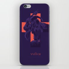 The witch - alternative movie poster iPhone & iPod Skin
