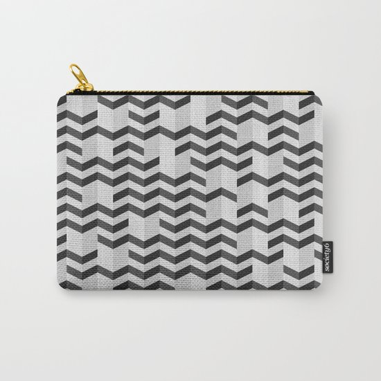 FOLDED / black Carry-All Pouch