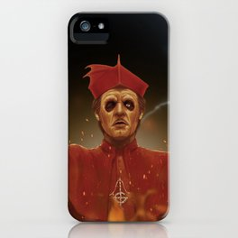 Lucifer, whispering iPhone Case