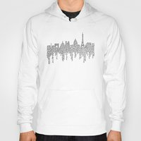 casablanca Hoodies featuring Paris by S. L. Fina