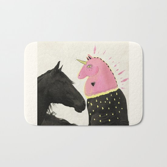 goodbye horses Bath Mat