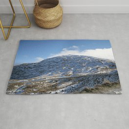 The Drive to Cardrona Ski Fields from Queenstown, New Zealand Rug