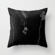 Fingerprint III Throw Pillow