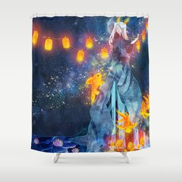 Moon Festival Shower Curtain