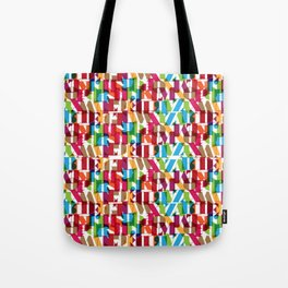 Letterform Fitting Tote Bag
