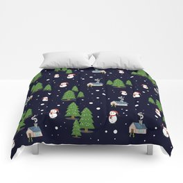 Holly Jolly Christmas Comforters