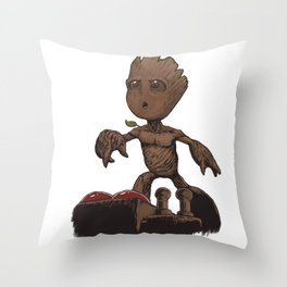 Is This The Death Button? Throw Pillow