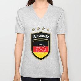 Germany Football Unisex V-Neck