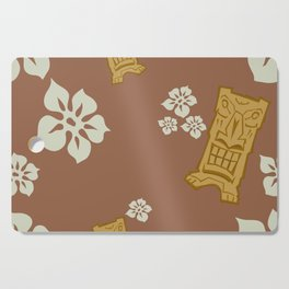 Tiki 9 Cutting Board