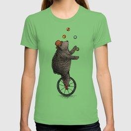 The Juggler (color option) T-shirt