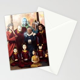 Aang and Katara's Legacy Stationery Cards