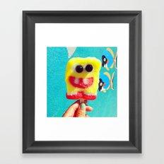 Spongebob:D Framed Art Print