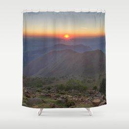 Gibraltar Countryside Shower Curtain