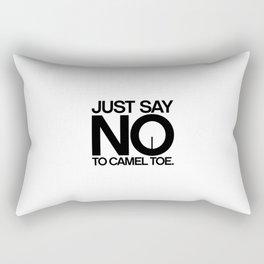 Camel Toe Rectangular Pillow
