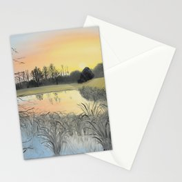 Nudity On The Water Stationery Cards