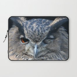 Eagle owl Laptop Sleeve