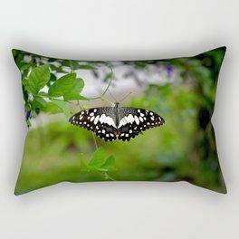 Butterfly Small Rectangular Pillow