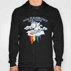 How Rainbows Are Made Hoody